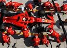 Borci v rudém: Ferrari předvedlo nejrychlejší zastávku současné éry