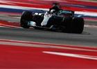 Kvalifikaci na GP USA 2017 vyhrál Hamilton