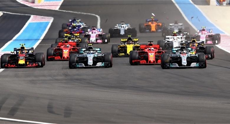GP Francie 2018 vyhrál Hamilton, Bottas a Vettel kolidovali