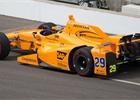 Indy 500: Alonso v posledním tréninku pátý