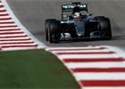 Hamilton vyhr�l v USA, sn�il ztr�tu na Rosberga