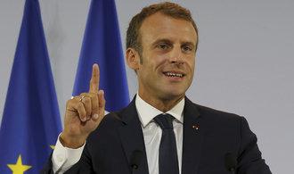 Macron navštíví koncem října Prahu, setká se se Zemanem i Babišem
