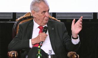 Prezident Zeman se s vládními nováčky setká v pondělí