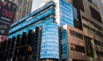 Morgan Stanley hlásí ztrátu stovek milionů dolarů kvůli daňové reformě