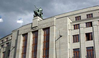Banky si kvůli intervencím ukládaly peníze u ČNB
