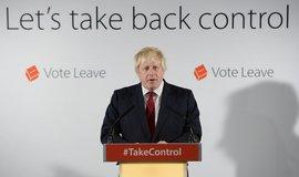 Boris Johnson p�ekvapil, o k�eslo premi�ra se uch�zet nebude