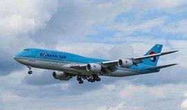 Do Prahy poprv� p�ilet�l ob�� Boeing 747-8, nejdel�� civiln� letadlo na sv�t�