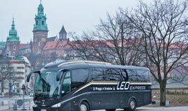 Leo Express nasad� sv� autobusy na linky do N�mecka a Rakouska