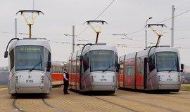 Zm�na tramvajov�ch linek se obe�la bez pot��, tvrd� dopravn� podnik