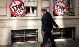 Jedn�n� o transatlantick� dohod� postupuj� plynule, uji��uje Washington