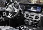 Poprvé za volantem nového Mercedesu G. Další inspirace třídou S...