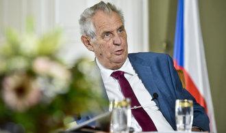 Zeman přijal zástupce čínských firem, mezi nimi i šéfa CITIC