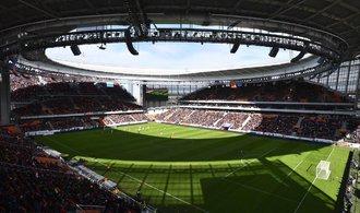 OBRAZEM: Fotbalové mistrovství světa nabídne divákům unikátní tribuny v Jekatěrinburgu