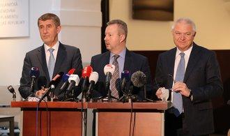 Poslanci ANO podpořili jednání o vládě s ČSSD a tolerancí komunistů