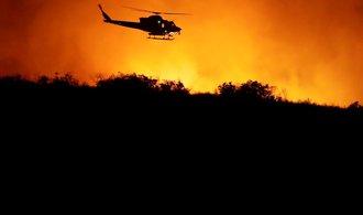 Požáry v Kalifornii způsobují rekordní škody. Letos přesáhly deset miliard dolarů