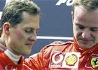 Barrichello chtěl vidět Schumachera, rozmluvili mu to