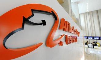 Webový obchod Alibaba opět investuje. Kupuje podíl v provozovateli hypermarketů