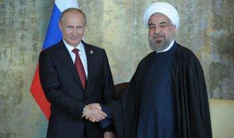 Rúhání si v Moskvě notoval s Putinem. Jednali o Sýrii a hospodářské spolupráci