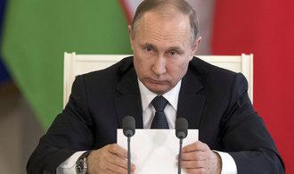 Trpělivost Ruska klesá. Na hrubost USA bude nutné odpovědět, tvrdí Putin