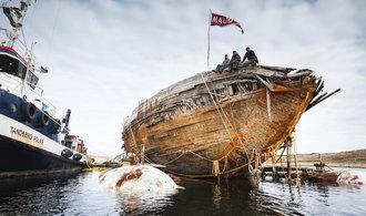 Amundsenova polární loď Maud se po sto letech vrací domů