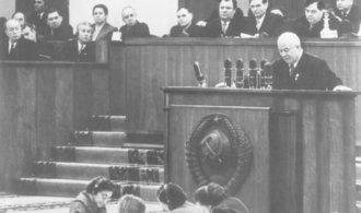Před 61 lety Chruščov pronesl