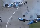 Videa: Obrovská nehoda Scotta Dixona v Indy 500