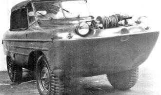 Obojživelná Škoda Auto z éry socialismu. Podívejte se, jak vypadal její prototyp