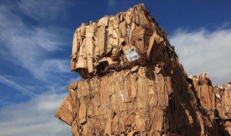 Sběrny papíru jsou přeplněné, Čína už evropský odpad nechce