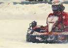 Iceman na sněhu! Räikkönen si zazávodil ve švýcarských Alpách [videa]