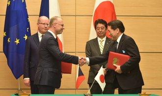 Exportní pojišťovna pomůže vývozcům do třetích zemí, spojí síly s Japonci