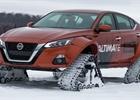 Takhle se propaguje systém pohonu všech kol! Nissan obul sedanu Altima pásy