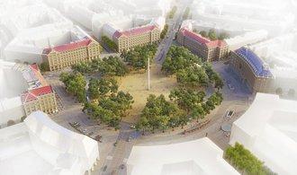 Více stromů, méně dopravy. Vítězné a Karlovo náměstí čekají změny