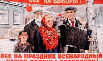 Za Stalina! Podívejte se, jak se volalo k volbám v Sovětském svazu