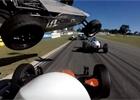 Video: Dramatická nehoda v australské formuli Vee