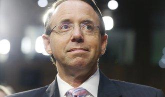 Americké ministerstvo opustil náměstek, který si měl tajně nahrát Trumpovy výroky