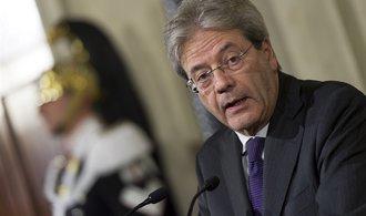 Italský premiér Paolo Gentiloni: V4 nás nemá co poučovat o kvótách, země mají plnit své povinnosti
