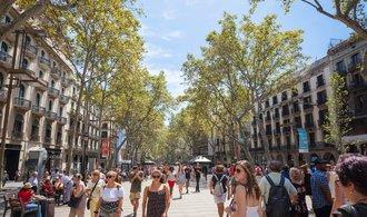Barcelona hlásí mrtvé a zraněné, auto najelo do skupiny chodců