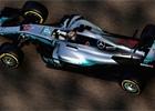 Hamilton ve druhém tréninku v Abú Dhabí těsně porazil Vettela