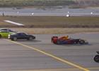 Netradiční závod: formule 1, motorka, Tesla, stíhačka, letadlo a další
