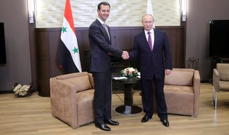 Putin se v Soči setkal se syrským prezidentem Asadem. Ten poděkoval za vojenskou pomoc