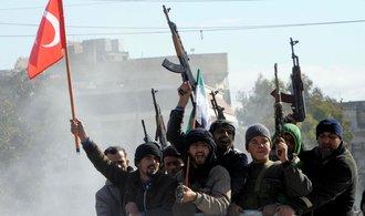 Turecká armáda se probojovala do Afrínu. Chce vytvořit bezpečnou zónu
