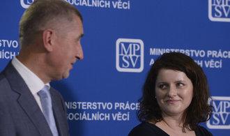 Podle Maláčové by se měl Babiš stáhnout, jiným ministrům jeho vysvětlení kauzy stačí