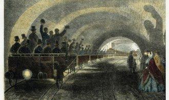 OBRAZEM: Nejstarší metro na světě jezdí už přes 155 let