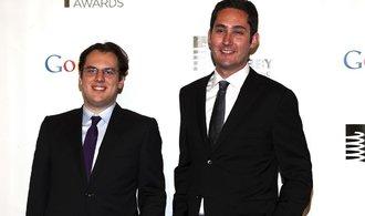 Spoluzakladatelé Instagramu Systrom a Krieger opouští vedení společnosti