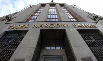Česká národní banka potřetí zvýšila úrokové sazby