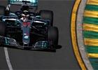V prvním tréninku byl nejrychlejší Hamilton, McLaren měl problémy