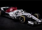 Tým Alfa Romeo Sauber představil svůj vůz pro sezónu 2018