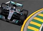 V prvním tréninku na GP Austrálie 2017 byl nejrychlejší Hamilton