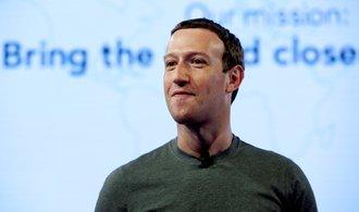 Akcie Facebooku se kvůli kauze Cambridge Analytica prudce propadly