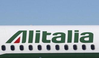 Část zaměstnanců aerolinek Alitalia zůstane nuceně doma